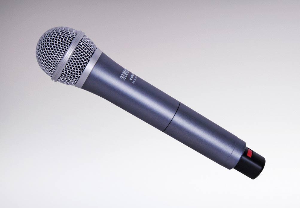 wireless electret uhf mic handheld 16 ch 520 550mhz redback audio. Black Bedroom Furniture Sets. Home Design Ideas