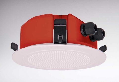 C 2160 low profile fire ceiling speaker as iso7240.24
