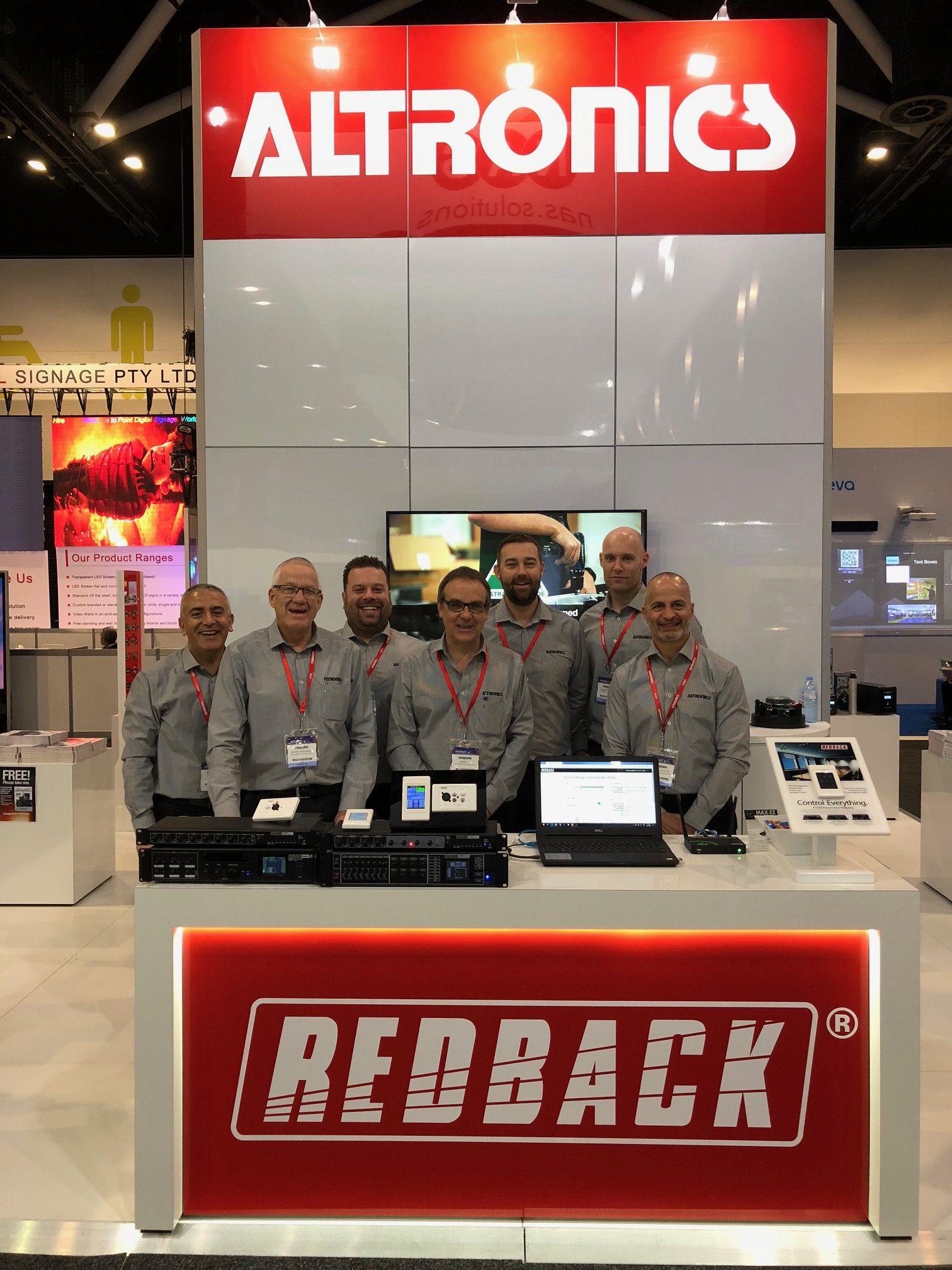 Redback team at Integrate 2018